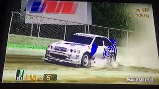 Gran Turismo 3 A-Spec Celica Rally Car VS Escort Rally Car 🏁