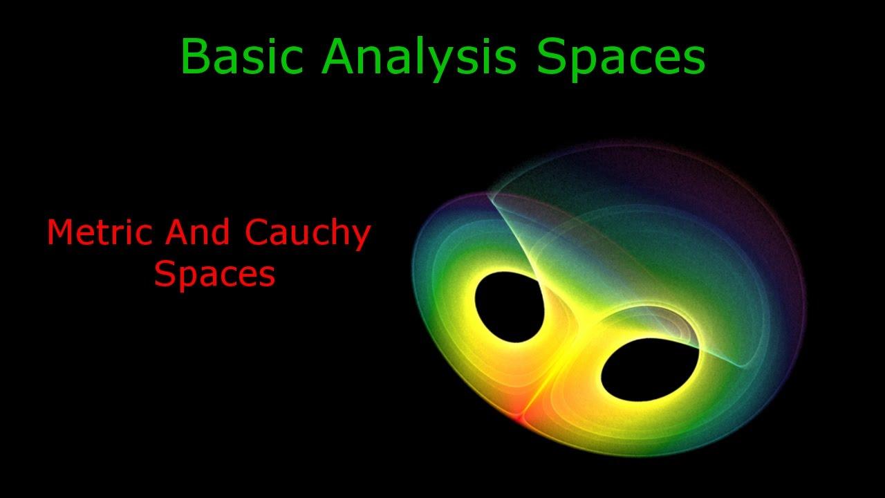 Vector space metric space