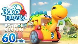 School Bus Fun | Badanamu Compilation l Nursery Rhymes & Kids Songs