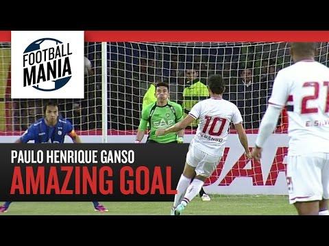 The Spectacular Paulo Henrique Ganso (São Paulo/BRA) - Amazing Goal vs. Huachipato (CHI)
