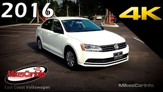 2016 Volkswagen Jetta 1.4T S - Ultimate In-Depth Look in 4K
