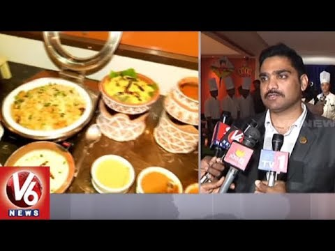 Sankranti Food Fest In Aditya Hotel At Ameerpet | Hyderabad | V6 News