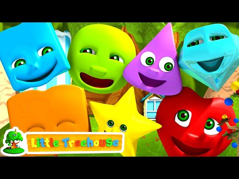 Learn Shapes | The Shapes Song for Children | Nursery Rhymes for Kids