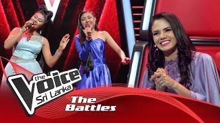 The Battles : Anarkalie Wishwalekha V Medini Lakna   Akasaye Kurullo    The Voice Sri Lanka