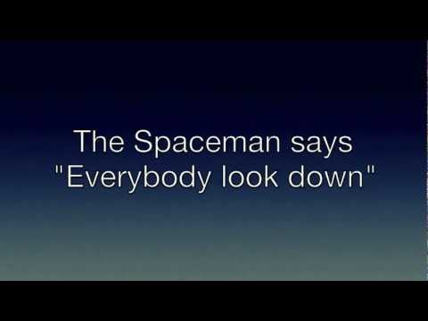 The Killers - Spaceman - Lyrics