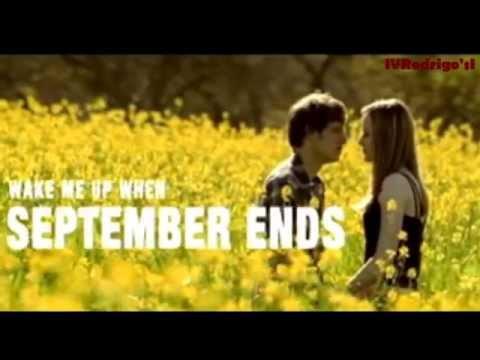 Green Day - Wake Me Up When September Ends [Lyrics y Subtitulos en Español]