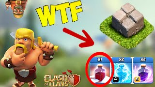 ТОП 5 СТРАННЫХ БАЗ В Clash of Clans!
