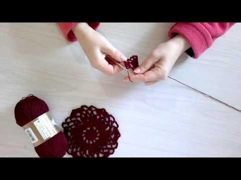 Вязание ажурного пуловера крючком. Часть 1 - основной шестиугольный мотив