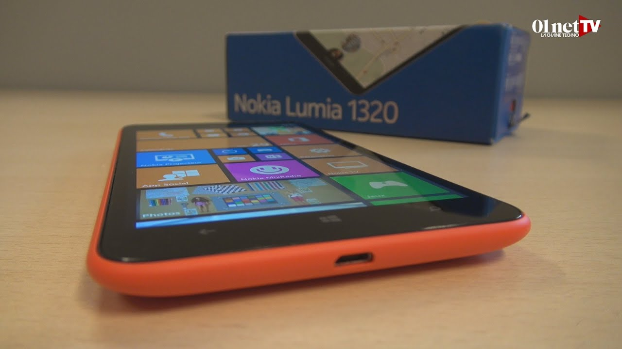 test du nokia lumia 1320 un smartphone grand cran et. Black Bedroom Furniture Sets. Home Design Ideas