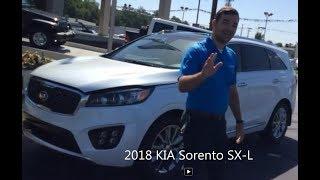 2018 Kia Sorento SXL Test Drive And Walk Around 360 Camera View