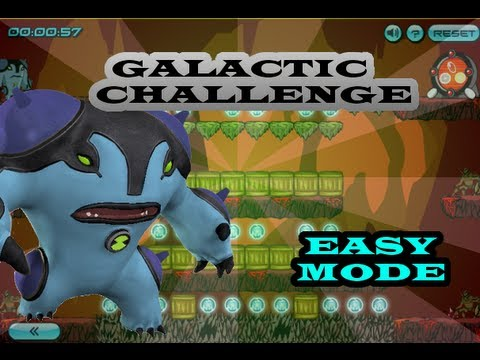 Ben 10 Galactic Challenge - Ultimate Cannonbolt - ( Easy )