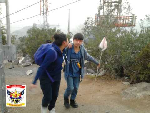 brigada Juvenil Bomba cordillera trekking cerro la ballena