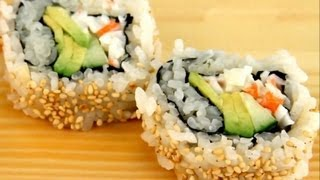 How To Make Sushi - Special California Rolls