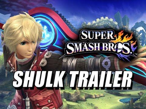 SHULK Trailer (Xenoblade) - Smash Brothers 4 Wii U