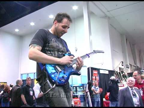 Dave Martone live at NAMM 2009 for Parker Guitars/USMusic