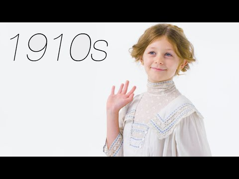 100 Years of Girls39 Clothing  Glamour