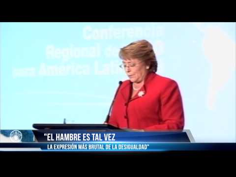 Discurso Michelle Bachelet en Conferencia Regional de FAO