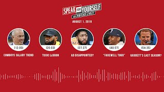 SPEAK FOR YOURSELF Audio Podcast (8.1.19) with Marcellus Wiley, Jason Whitlock | SPEAK FOR YOURSELF