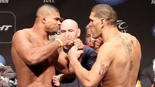 Alistair Overeem vs Bigfoot Silva UFC 156 FaceOff