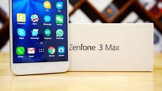 Asus Zenfone 3 Max ZC553KL - Unboxing & Hands On!