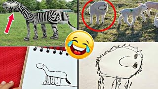 Dad Turn's His 6 Years Old Son's Drawings Into Reality | Hilarious Drawings Ever | 2018