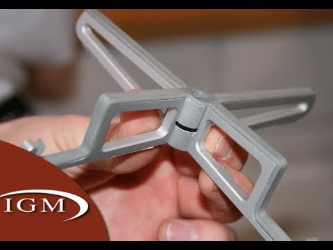 Griffin Expo, Wedge, Arrowhead foldable iPad Stands (CES First Look)