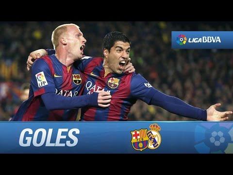 Todos los goles de FC Barcelona (2-1) Real Madrid