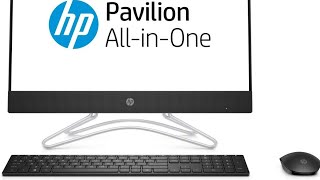 HP 22-C0014il 21.45-inch All-in-One Desktop Jet Black UNBOXING