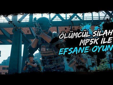 ÖLÜMCÜL SİLAH MP5K İLE EFSANE OYUN! [PUBG]