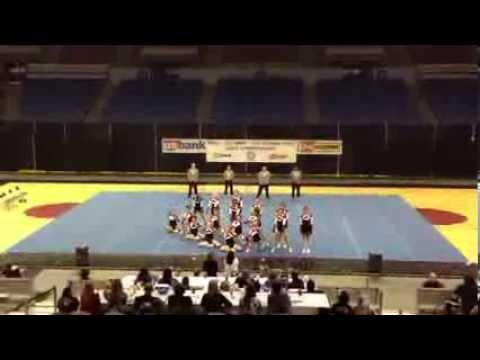 Klamath Union High School Cheer State 2014