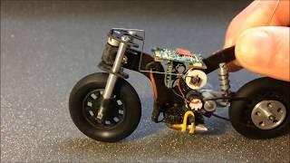 Làm Xe Máy Mini Điều Khiển Từ Xa Đơn Giản    Make motorcycle model