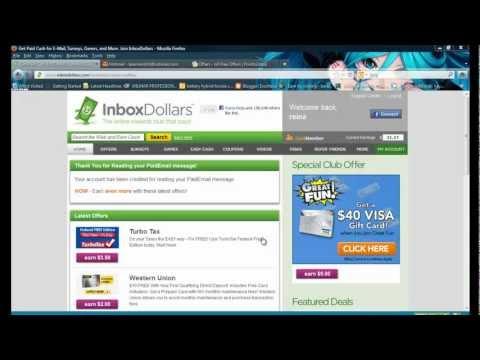 TUTORIAL # 2como funciona InboxDollar para ganar DINERO SIN PAGAR NADA