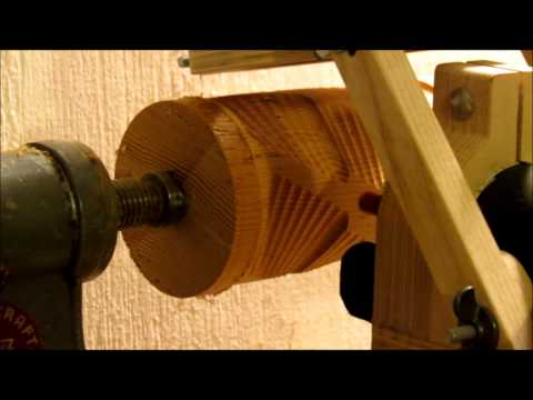 Router lathe, now with Mach3!