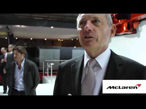 Ron Dennis on McLaren Automotive