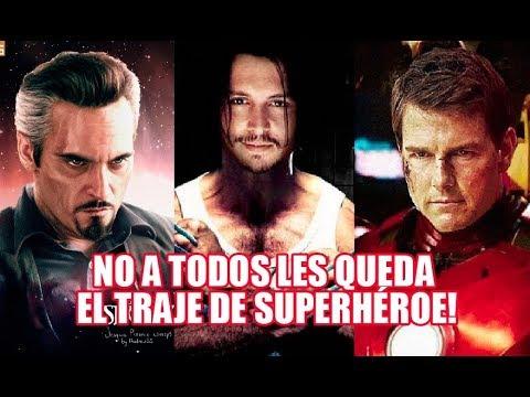 TOP 10 ACTORES Que RECHAZARON Increíbles PAPELES De SUPER HÉROES!