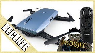 Unboxing a recenze kapesního skládacího selfie dronu J JRC H47 ELFIE+