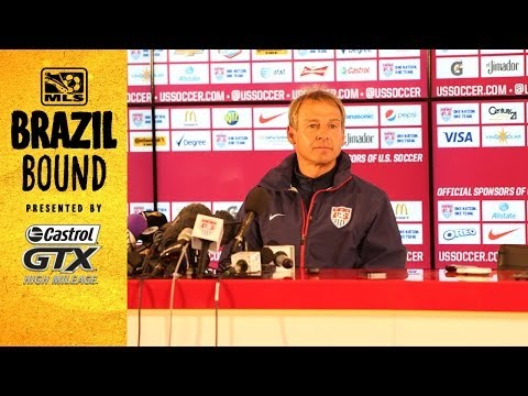 Jurgen Klinsmann: 'We will go in there and take the game to Ghana' | Brazil Bound
