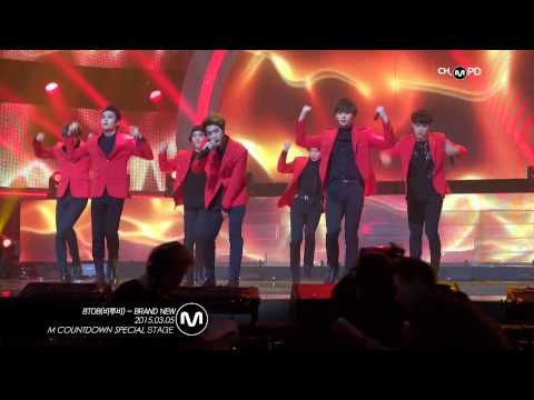 [MPD직캠] 비투비 직캠 Brand new(원곡: SHINHWA) BTOB Fancam Mnet MCOUNTDOWN 150305