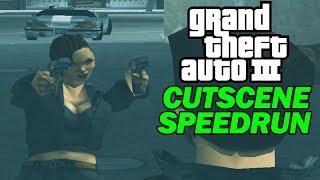 Grand Theft Auto III - All Missions Speedrun with Cutscenes