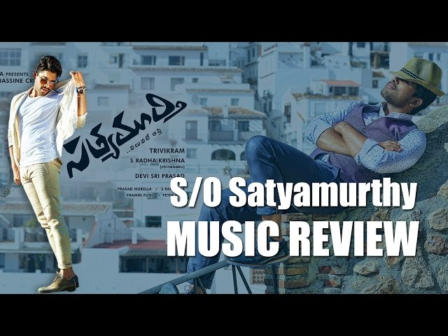 'Son Of Satyamuthy' Music Review