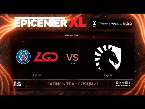PSG.LGD vs Liquid, EPICENTER XL, Grand Final, game 1 [v1lat, godhunt]