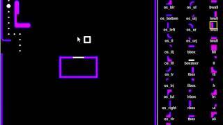 Pacman Maze Editor TCL Script