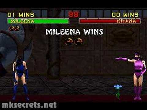 Mortal Kombat II - Friendship - Mileena Video