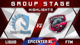 Liquid vs FTM FlytoMoon [EPIC] EPICENTER XL Major 2018 Highlights Dota 2