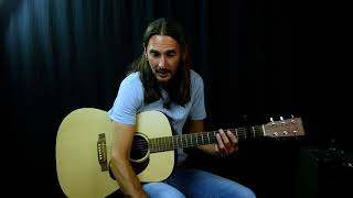 My Sweet Lord acoustic guitar lesson - George Harrison