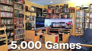 Metal Jesus GAME ROOM TOUR - 5000 Games!