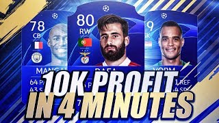 10K PROFIT IN MINUTES! THIS SNIPING FILTER = BANK! - FIFA 19 TRADING METHOD