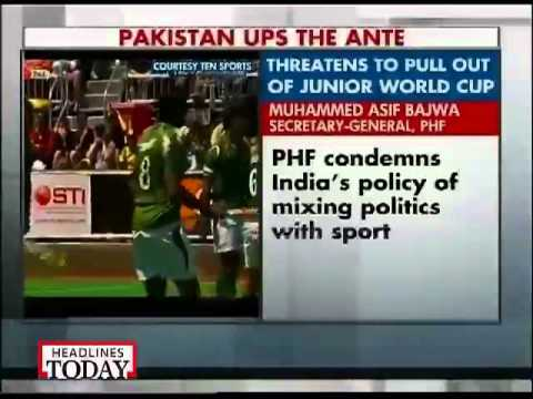 Pak Hockey Federation threatens to pull-out of Junior World Cup