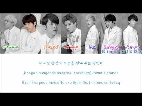 Infinite - Reflex [Hangul/Romanization/English] Color & Picture Coded HD
