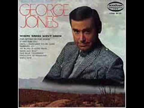 George Jones - Where Grass Wont Grow